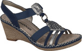 Remonte - NAVY WEDGE SANDAL