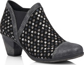 Remonte - BLACK SHOOTIE WITH POLKA DOTS
