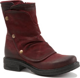 Bueno - GRETA DARK RED NUBUCK
