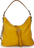 Joanel - HOBO BAG FAUX LEATHER CURRY
