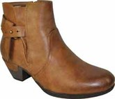 Vangelo - SHORT ANKLE BOOT COGNAC