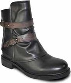 Vangelo - 2 STRAP RIDING BOOT BLACK