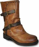 Vangelo - 2 STRAP RIDING BOOT COGNAC