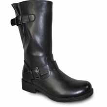 Vangelo - HF8409-BLACK - TALL RIDING BOOT BLACK