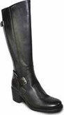 Vangelo - TALL STRETCH PANEL BOOT BLACK