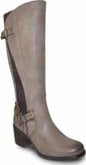 Vangelo - TALL STRETCH PANEL BOOT GREY