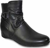 Vangelo - HIDDEN WEDGE BOOT BLACK