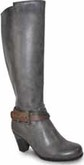 Vangelo - TALL BOOT W/BUCKLE GREY