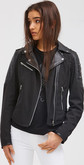 Moose Knuckles - CASTLENEAU MOTO JACKET BLACK