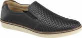 Johnston & Murphy - MCGUFFEY WOVEN SLIP-ON BLACK