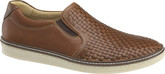 Johnston & Murphy - MCGUFFEY WOVEN SLIP-ON TAN