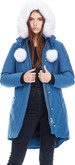 Moose Knuckles - L STIRLING PARKA CHAMBRAY-NAT