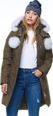 Moose Knuckles - L STIRLING PARKA ARMY-NATURAL