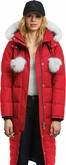 Moose Knuckles - SASKATCHEWAN PARKA RED-NATURAL