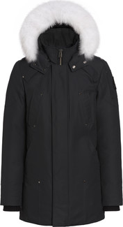 Moose Knuckles - MENS STIRLING PARKA BLACK-NATURAL