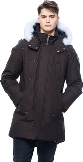 Moose Knuckles - MENS STIRLING PARKA BLACK-FROST