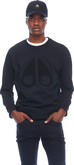 Moose Knuckles - MOOSE LOGO SWEATSHIRT BLACK