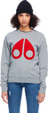 Moose Knuckles - MOOSE LOGO SWEATSHIRT GREY