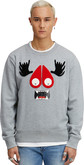 Moose Knuckles - MENS MUNSTER SWEATSHIRT GREY