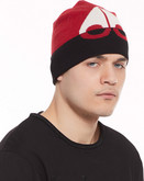 Moose Knuckles - MOOSE LOGO BEANIE BLACK