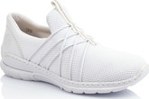 Rieker - WHITE ATHLETIC SLIP ON