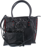 Remonte - PURSE BLACK SILVER RED