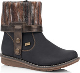Remonte - BLACK FOLD DOWN BOOT