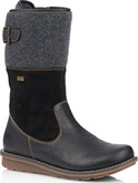 Remonte - TALL BLACK WOOL LINED BOOT