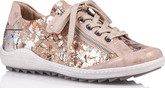 Remonte - ROSE GOLD FLORAL MULTI LACE UP
