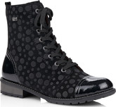 Remonte - BLACK LACE UP MID BOOT