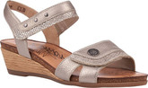 Remonte - GREY WEDGE SANDAL