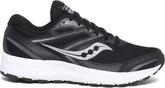 Saucony - COHESION 13 BLACK & WHITE- WID
