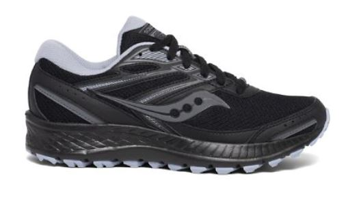 Saucony - COHESION TR13 BLACK GRAY & LIGHT BLUE - WIDE