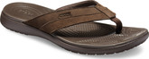 Crocs - SANTA CRUZ LEATHER FLIP ESPRES