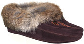 Urban Trail - BEADED MOCC W/FUR TRIM BROWN