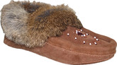Urban Trail - BEADED MOCC W/FUR TRIM OAK