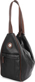 Joanel - SLING BAG BLACK BROWN
