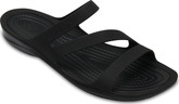 Crocs - SWIFTWATER SANDAL BLACK/BLACK