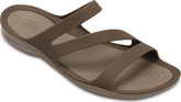Crocs - SWIFTWATER SANDAL WALNUT