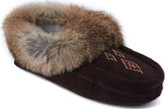 Manitobah Mukluks - BROWN BEADED SUEDE MOCCASIN