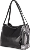 Joanel - TOTE BAG BLACK METALLIC