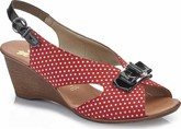 Rieker - RED POLKA DOT SLINGBACK