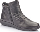 Rieker - BLACK SHOR DOUBLE ZIP BOOT