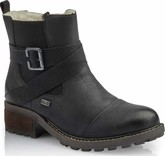 Rieker - BLACK CRISS CROSS STRAP BOOT