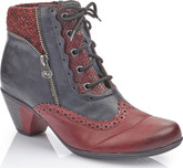 Rieker - RED AND NAVY BOOT