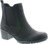 Rieker - BLACK DOUBLE GORE BOOT
