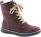 Rieker - BURGUNDY LACE UP BOOT