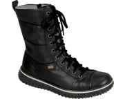Rieker - TALL BLACK LACE UP BOOT