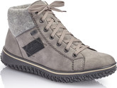 Rieker - GREY SHORT LACE UP BOOT