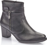 Rieker - BLACK HEELED BOOT